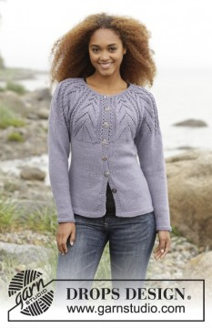 Magic Web Cardigan by DROPS Design