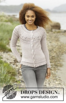 Crystal Bright Cardigan by DROPS Design