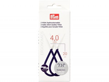 Prym Yoga Flettepinner - 4 mm
